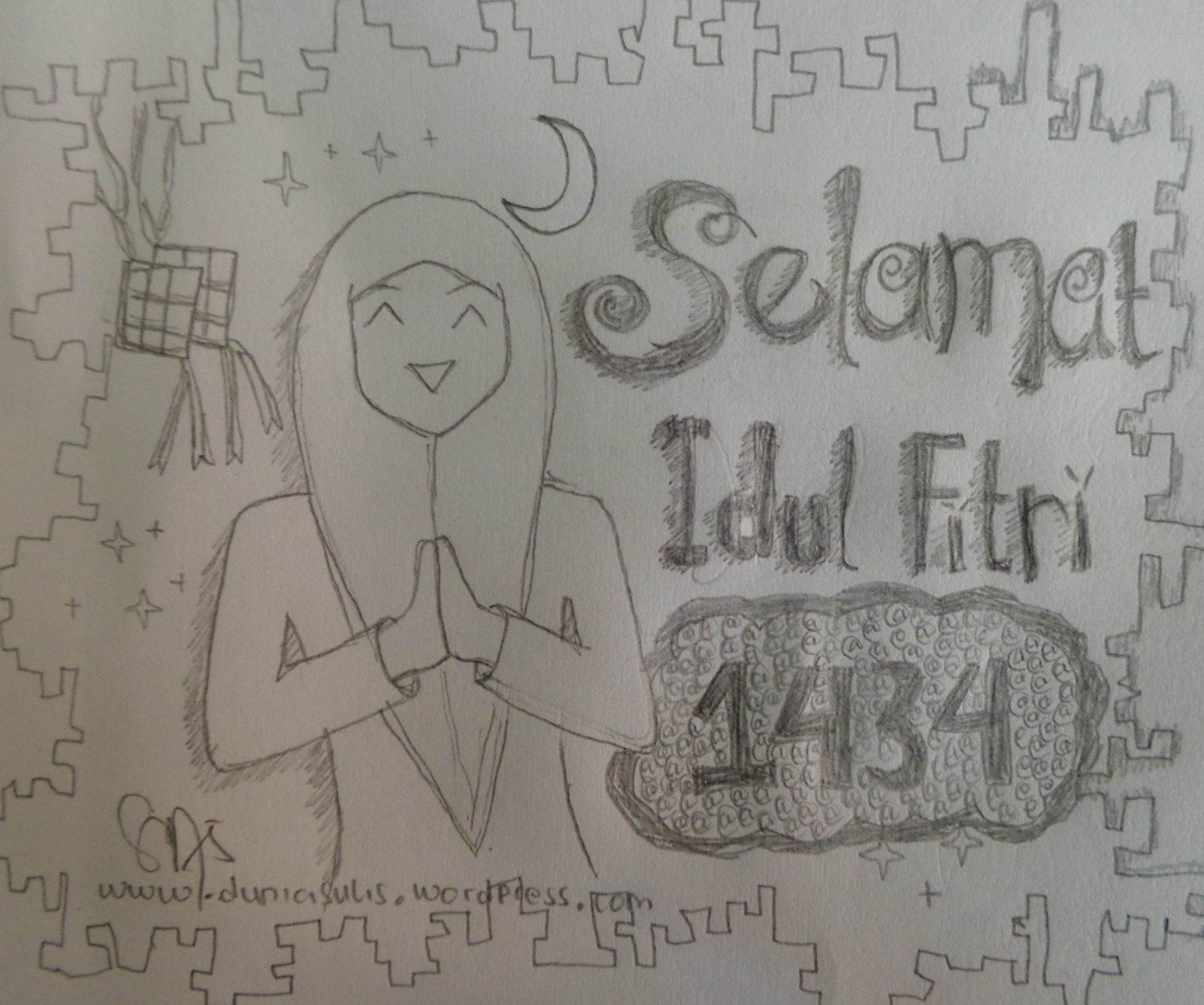 Selamat Hari Raya Idul Fitri 1434 H :)
